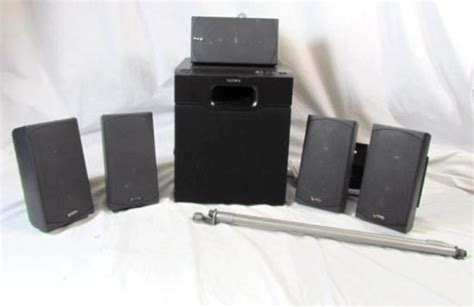 infinity hts  home theater speaker system  sony sa wm