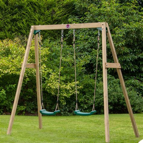 swing set pieces 4 piece double swing set temple webster