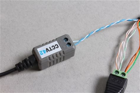 using cat5 cable to connect cctv cameras to a dvr. a guide