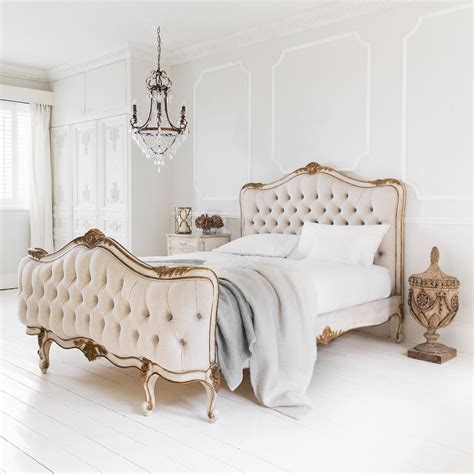 romantic indulgence  lovely  palais french bed