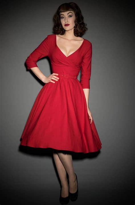 swing kleid rot pin up style dress dress style
