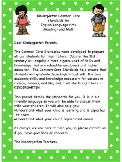 Introduction Letter About Your Child To 1000 Ideas About Kindergarten Parent Letters On Preschool Homework Kindergarten