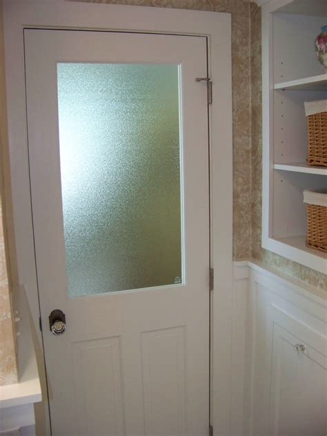 Doors Glass Interior Glass Panel Interior Doors Bathroom Interior Eye Catching White Wooden Half Glass Bathroom Doors