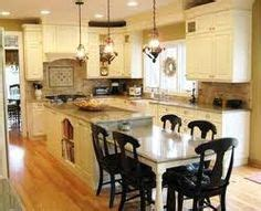 1000  images about Kitchen Islands with Tables on