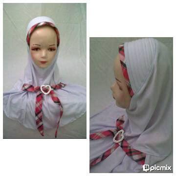 Baju Gamis Fawwaz seragam baju muslim jilbab sekolah jilbab anak jilbab seragam bahan kaos pe