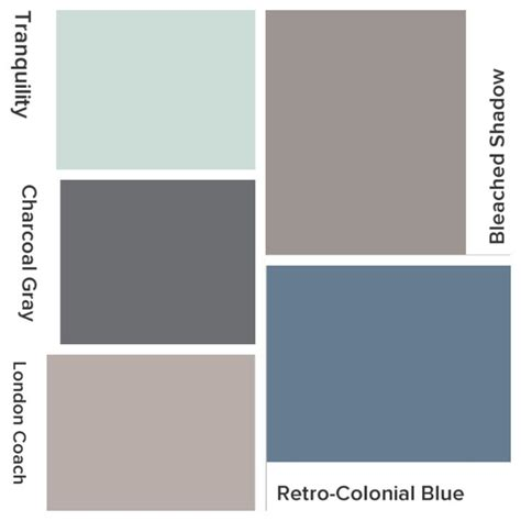grey office paint palette whole house color scheme valspar lowes bleached shadow kitchen retro colonial blue