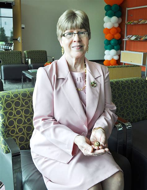 karen wolfe first class ring returns to cus as a symbol of alumni