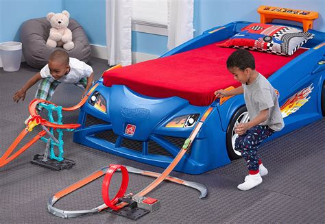 hot wheels car bed this race car bed is a giant extension of your kid s hot