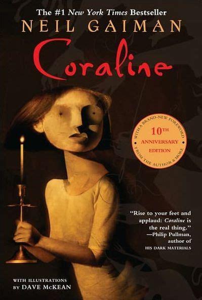 neil gaiman coraline reviews compare best horror books coraline by neil gaiman dave mckean hardcover barnes noble 174