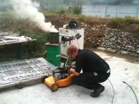 Holzvergaser Auto Kaufen by Holzvergaser Rasenm 228 Funktioniert