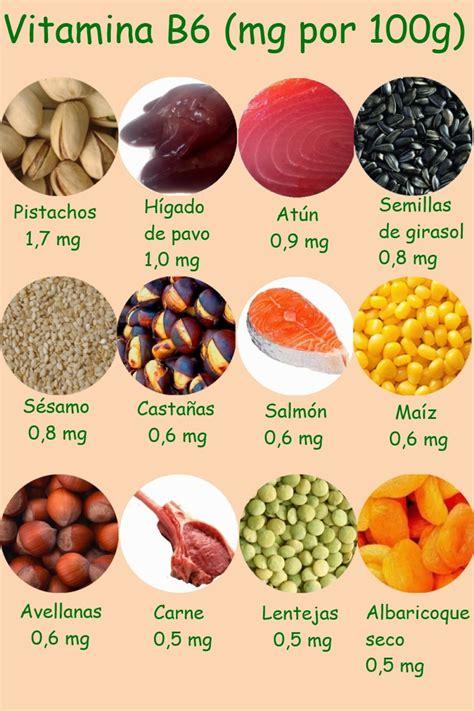 vitamina b en alimentos vitaminas