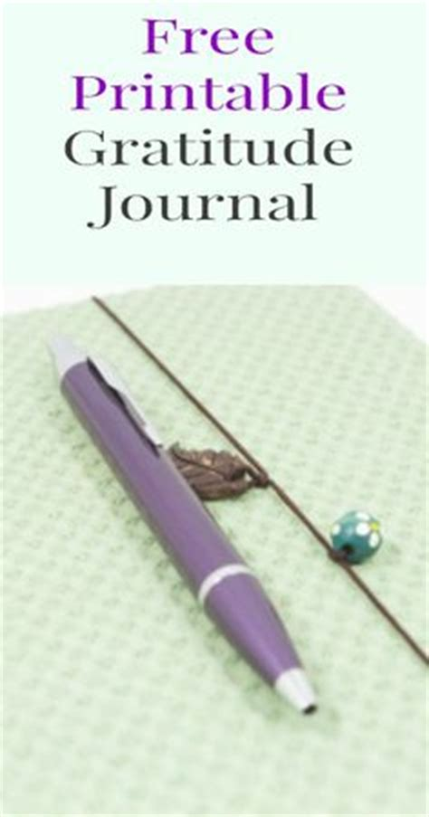 free printable gratitude journal gratitude journals on pinterest journals gratitude jar