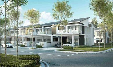 Malaysia Home Renovation 2 Storey New Development 2 Storey Terrace Villas By Country Villas