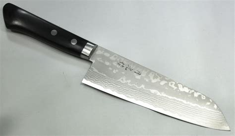hand forged japanese kitchen knives gekko hand forged damascus santoku knife 170mm gh201