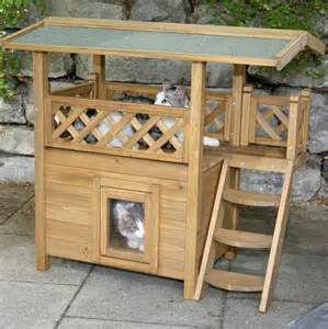 outdoor cat houses outdoor cats and cat houses on