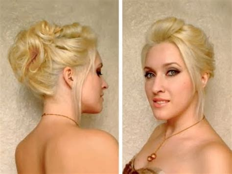 easy hairstyles for medium layered hair gossip easy hair updo