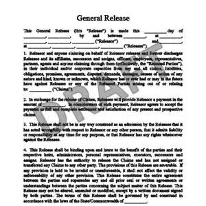 Waiver Agreement Template by Release Of Liability Create A Free Liability Waiver Form