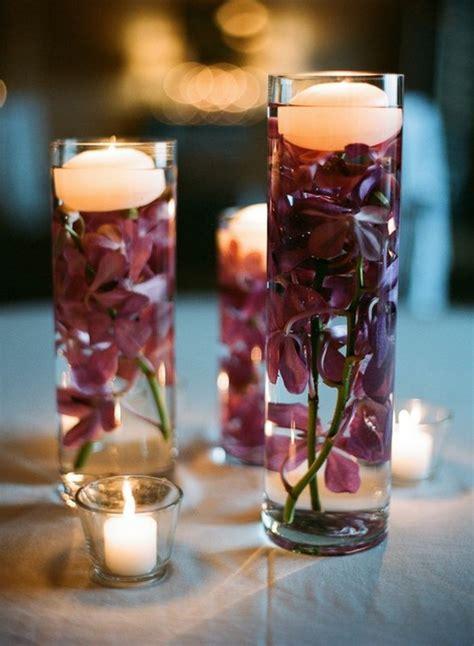 billige kerzen kaufen billige kerzen im glas mit lila blumen d 233 coration