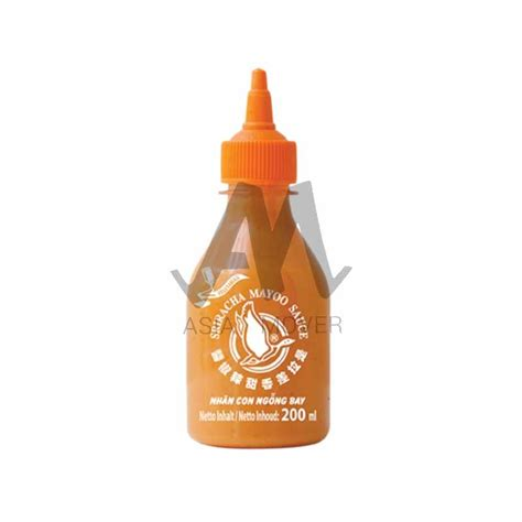 sriracha mayo flying goose flying goose sriracha mayo sauce 200 ml