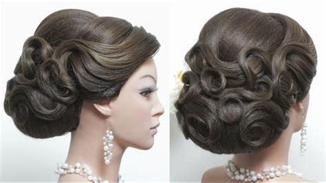 bridal hairstyles for hair step by step bridal hairstyle for hair tutorial wedding updo step