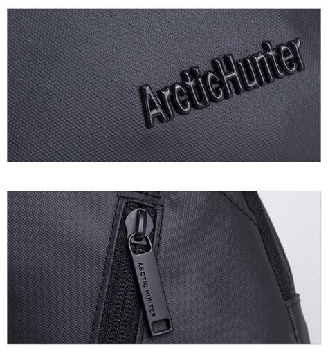 Tas Selempang Arctic Waterproof Blue arctichunter tas selempang oxford cloth waterproof black jakartanotebook