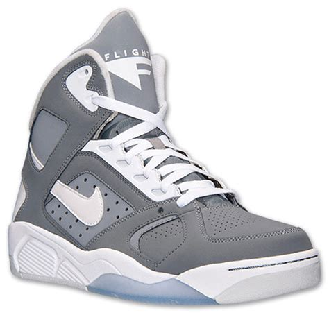 High Grey nike air flight lite high cool grey available now sole