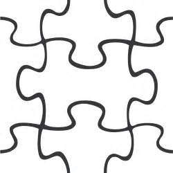 puzzle pieces outline clipart best
