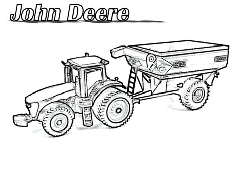 printable coloring pages deere tractors free coloring pages of fendt tractors