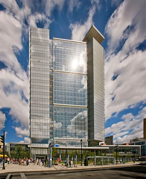 Records Manitoba Manitoba Hydro Place Sets New Record With Leed Platinum