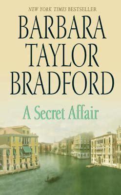 a affair books a secret affair by barbara bradford reviews