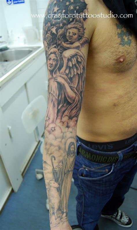 tattoo angel model women religious angel model tattoo sleeve design idea for