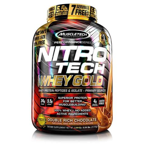 Nitrotech Power 5 Lbs Muscletech nitro tech 100 whey gold 5 5 lbs