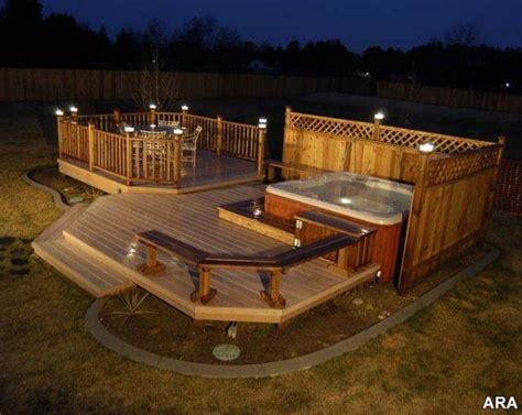 Patio Deck Designs Tub 246 Best Images About Tub Ideas And Spa On