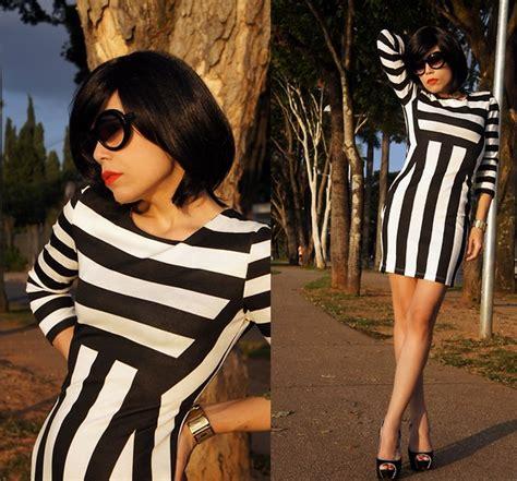 Andita Stripe I 10 vivi doll animal print skirt black animal lookbook