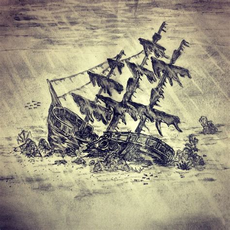shipwreck tattoo sketch by ranz pinterest urca de