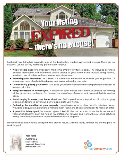 farm your listing expired there s no excuse first