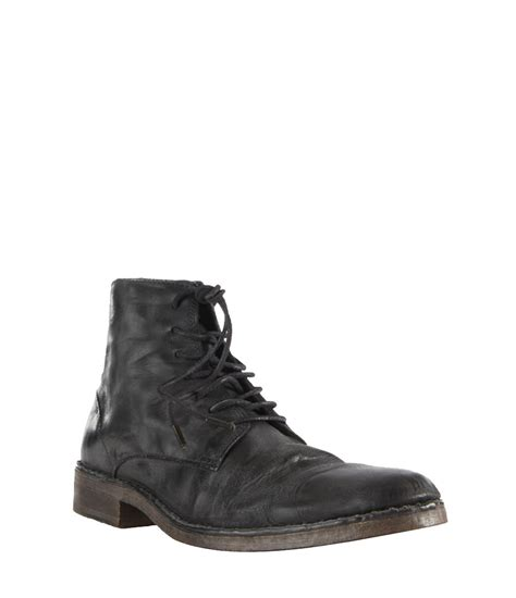 allsaints trap boot in black for lyst
