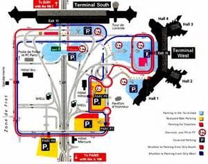 mappa aeroporto di parigi