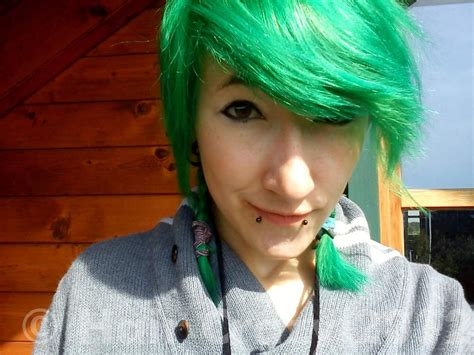 best hair color for green directions apple green hair dye haircrazy