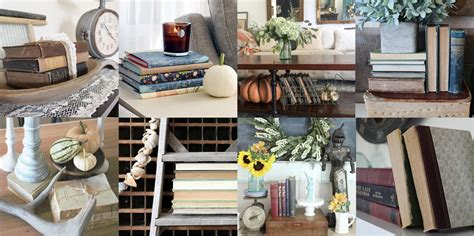 decorating with books simple ways to decorate with vintage books an inspired nest