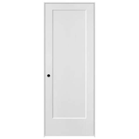 30 X 80 Interior Door Opening by Masonite 30 In X 80 In Lincoln Park Primed 1 Panel