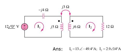 inductor dot notation inductor dot notation 28 images talk polarity inductance simulation applying cramer s rule