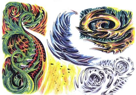 the design share biomechanical tattoo flash designs
