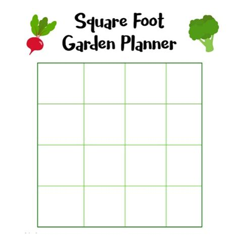 printable vegetable garden planner free square foot garden planner printable a cultivated nest