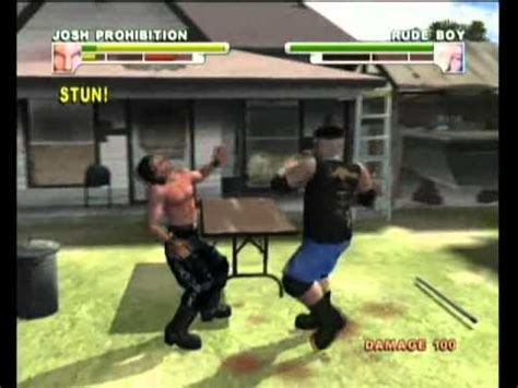 backyard wrestling video game backyard wrestling xbox gameplay youtube