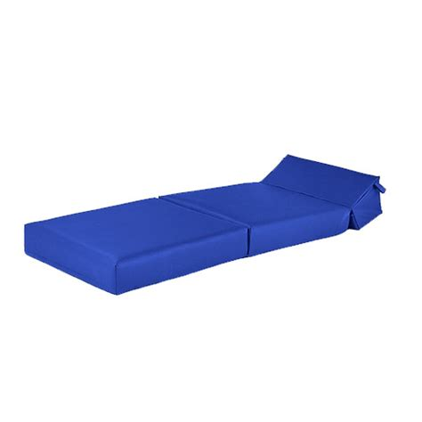 fold up futon mattress blue faux leather single chair z bed guest fold up futon