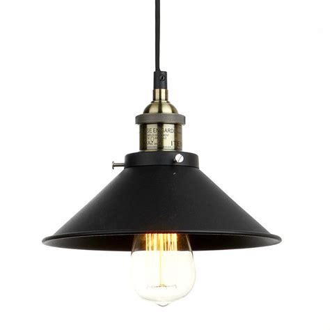 Farmhouse Style Light Fixtures Vintage Industrial Lighting Iron 1 Light Pendant American