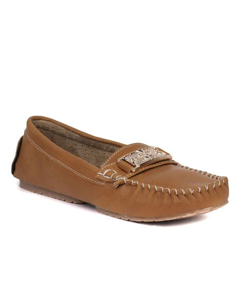 buy leather loafers india vilax beige synthetic leather loafers price in india buy