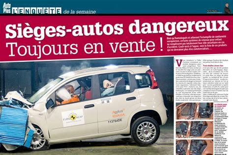 crash test sieges auto sieges autos enfants dangereux en vente attention