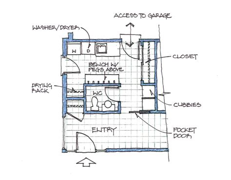 laundry mudroom floor plans home designs mudrooms